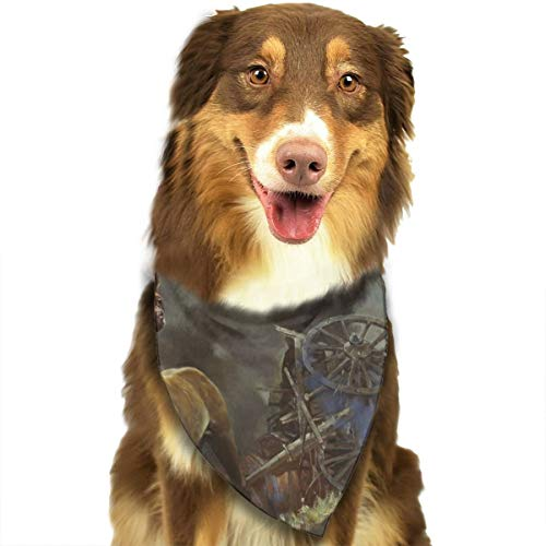 Pet Scarf Dog Bandana Bibs Triangle Head Scarfs Rollover Carriage Horse Accessories for Cats Baby Puppy