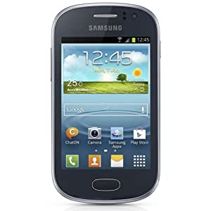 Samsung Galaxy Fame S6812 Unlocked GSM Dual-SIM Android Cell Phone - Blue