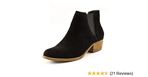 Amazon.com | kensie Womens Garry Suede Short Fashion Casual Ankle Booties | Boots