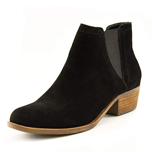 Kensie Women's Garry Suede Short Heel Ankle Booties (Black, 7) from kensie