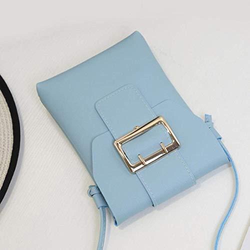 coloré FemmeMessenger Rouge BZL Rose Taille Bleu Sac Rouge Moontang qPOxw7Xp