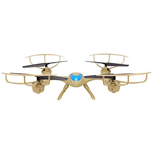 MJX X500 2.4G 6 Axis Gyro FPV Drone Headless Mode 3D Roll Auto Return RC Quadcopter Helicopter Brown