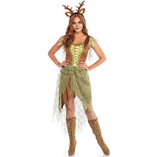 Leg Avenue Womens Woodland Fawn Halloween Costume, Multi, Medium]()