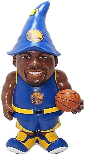 "NBA Golden State Warriors Draymond Green #23 Resin Player Gnome, 8"", Team Color"