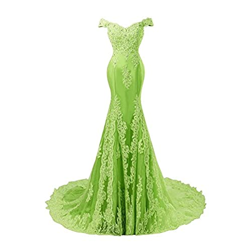 Lime Green Long Formal Dresses Amazon