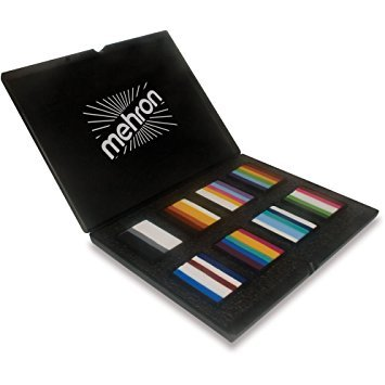 Mehron Makeup Paradise AQ Face Body Paint Prisma BlendSet 8-Color ProPalette