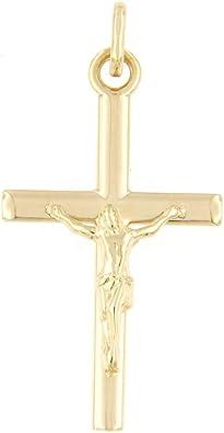 CHRIST en ARGENT Massif Neuf Grande CROIX Chrétienne