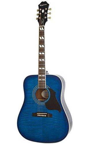 Epiphone Hummingbird Artist Acoustic Guitar Blueburst (Artist Epiphone)