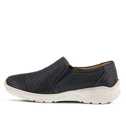 Spring Step Womens Vernice Shoe Navy