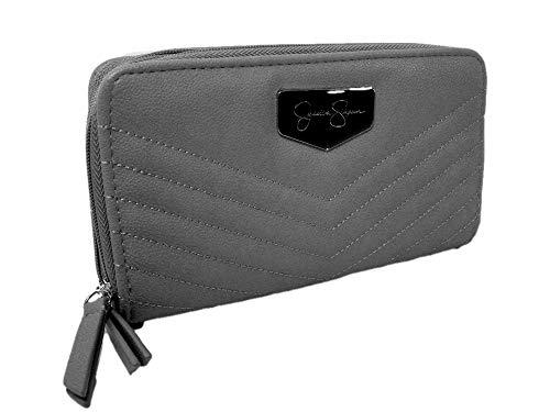 Simpson Purse Double Fog Jenita Hand Wallet Around New Logo Gray Bag Jessica Zip 50WPtqHS