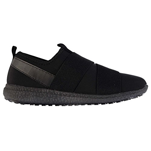 Stoff Zoop slipperturnschuhe Damen schwarz Sneakers Sport Schuhe Schuhe