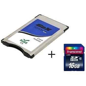 Tera PCMCIA Card to SD 16GB Memory SDHC Card Adapter Adaptor Converter for Mercedes Benz E Class E200 E260 E300 E350 E63AMG SLK Class SLK20 SLK28 ...