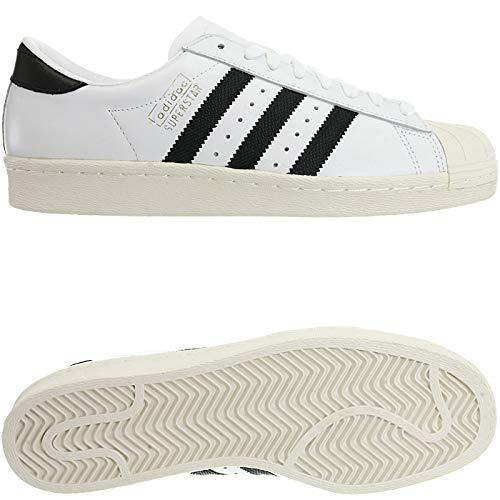 Blanc casbla 000 Adidas Chaussures De ftwbla Homme Og Eu 40 Superstar Fitness negbas zqqYF