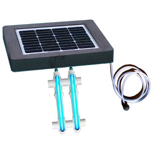 Natural Current Savior UV O3 Ultraviolet Ozone Pool Spa Sanitation Disinfection Filter System, 30-watt by Natural Current