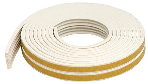M-D Building Products 2618 02618 Rubber Weatherseal, White
