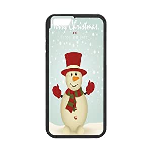"""Christmas Snowman New Printed Case for Iphone6 Plus 5.5"""", Unique Design Christmas Snowman Case"""