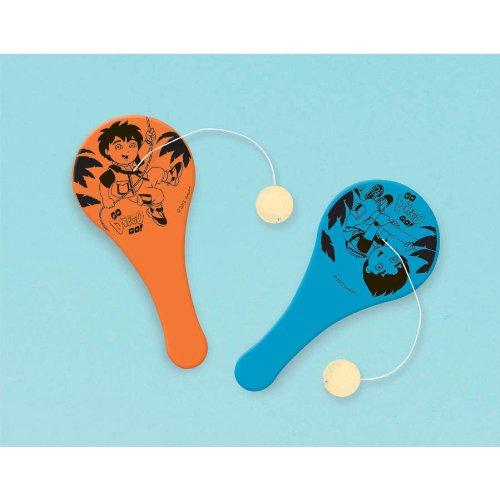 Biggest Rescue Mini Paddle Balls (12ct): Amazon.es: Juguetes y juegos