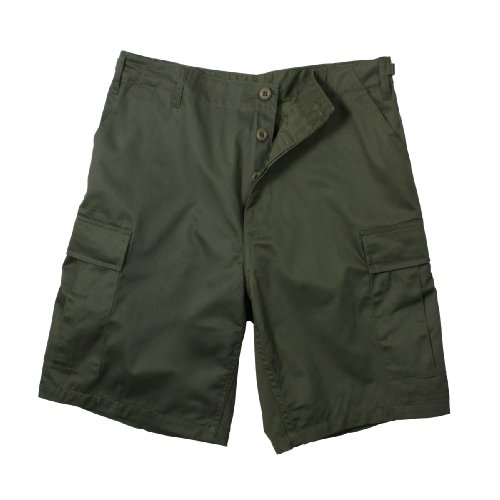Olive Drab Military Combat BDU Shorts