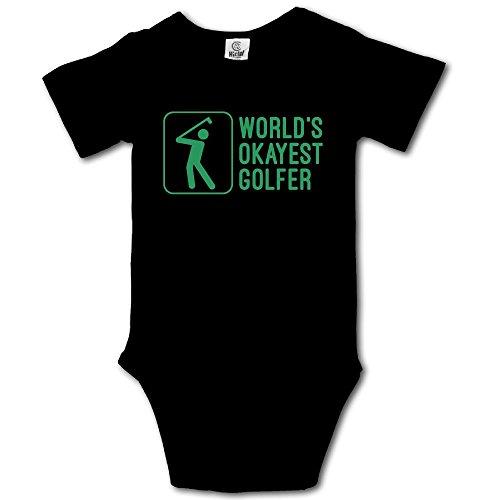 V5DGFJH.B Baby Toddler Climbing Bodysuit Okayest Golfer Infant Climbing Short-Sleeve Onesie Jumpsuit ()