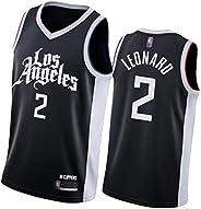 Leonard George 2021 New Season Basketball Jersey - City Edition, Clippers 2# 13# Men Sleeveless T-Shirt Sports