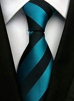 WUNDEPYTIE Corbata para Hombre Seda De Poliéster Negocio ...