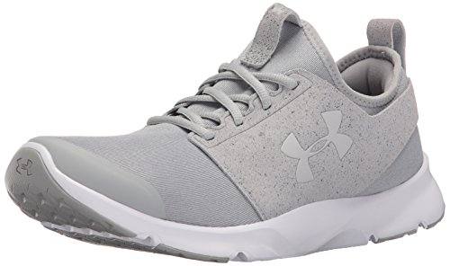 Under Armour Men's Drift Mineral Running Shoes, Glacier Gray/White, 10 D(M) US