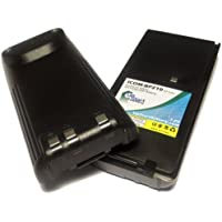 2x Pack - Icom BP-210 Two-Way Radio Battery Replacement (1600mAh, 7.2V, NI-MH) - Compatible with Icom IC-A24, Icom IC-V8, Icom IC-V82, Icom IC-A6, Icom IC-F21GM, Icom IC-F21, Icom IC-F11, Icom IC-U82, Icom BP-209, Icom IC-F31GS