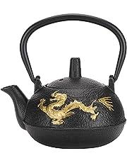 0,3 l żeliwny czajnik do herbaty, japoński czajniczek z zaparzaczem do herbaty liściastej