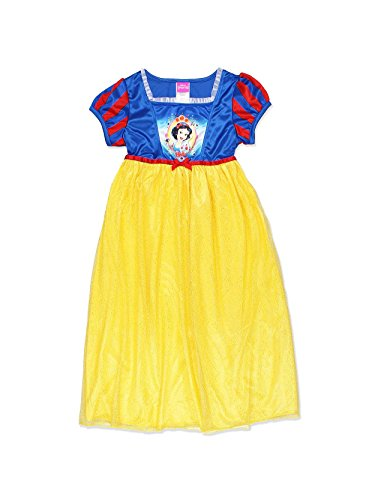 (Disney Little Girls' Snow White Fantasy Nightgown, Yellow, 4 )