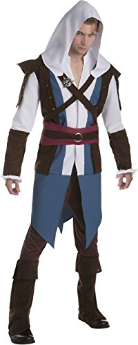 Adult Assassin's Creed Edward Classic Costume (Kids Assassins Creed Costumes)