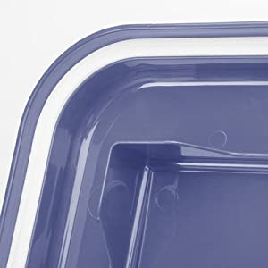 IRIS 3-Piece Airtight Pet Food Container Combo Purple from IRIS USA, Inc.