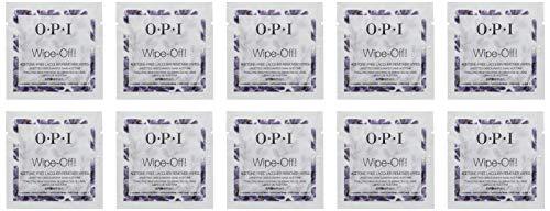 OPI Nail Wipes, 10 Count - Polish Nail Care Pads Remover