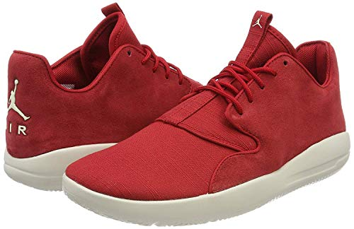 Jordan Mens Eclipse Low Top Lace Up Trail Running Shoes, Red, Size 13.0