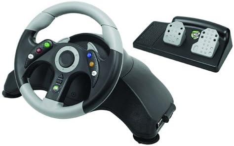 Mad Catz - Volante Microcon + Pedales, Color Negro (Xbox 360 ...