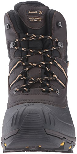 Kamik Herren Warrior2 Schneestiefel Dark Brown