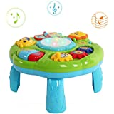 HANMUN Musical Learning Table Baby Toy - Electronic Education Toys for Toddlers Early Development Activity Toy by (Green)