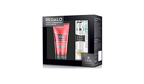 Amazon.com : Estuche Olay Regenerist Luminous Spf-20 + Crema ...