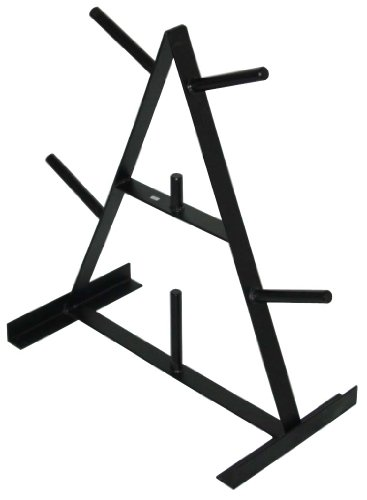Triangle Weight Plate Tree 6 Prong by Ader Sporting Goods by Ader Sporting Goods