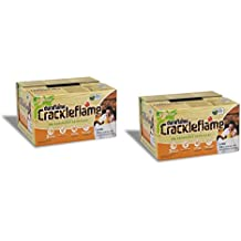 Duraflame 2-boxes 4637 6-pack Crackleflame Firelogs, 4-pound (2)