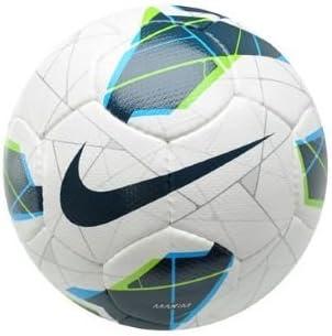 Nike SC2126-144 - Balón de fútbol (talla 5), color blanco y azul ...