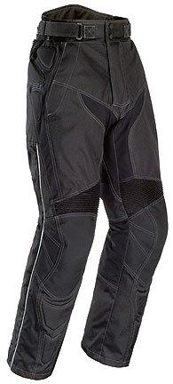 Tourmaster Mens Caliber Motorcycle Pants Black Medium M