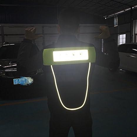 TINTON LIFE Breathable Motorcycle Biker Vest with Pockets Unisex Reflective Motorcycle Riding Suit Fluorescent Orange, M
