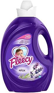 Fleecy Liquid Fabric Softener, Aroma therapy Relax 148 Loads, 3.5 Liter