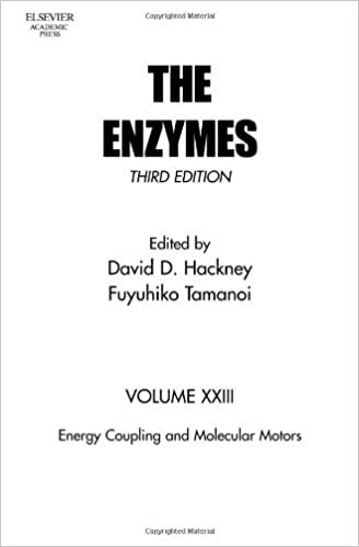 Energy Coupling and Molecular Motors (The Enzymes Book 23) 3rd Edition, Kindle Edition