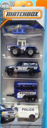 Matchbox 2018 Police Team 1:64 Scaled -