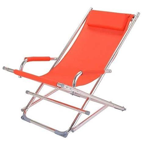 Silla de jardín silla plegable/Eden, naranja: Amazon.es: Jardín