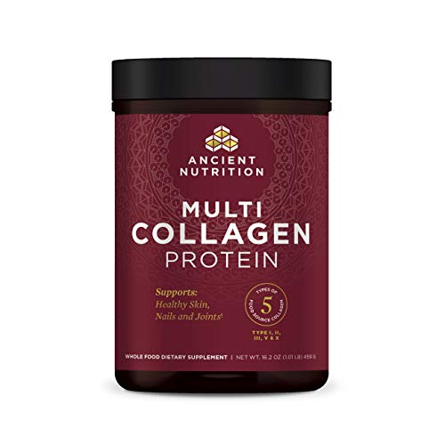 Ancient Nutrition – Multi Collagen Protein Powder – Pure, Collagen Peptides formulated by Dr. Josh Axe, Gluten Free…