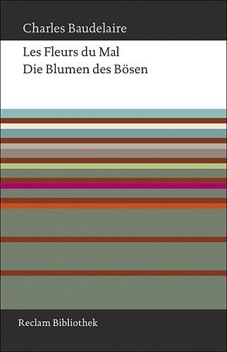 Die Blumen Des Bösen  Französisch Deutsch  Reclam Bibliothek
