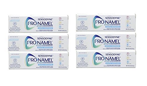 Sensodyne Pronamel Toothpaste, Gentle Whitening, Alpine Breeze Travel Size 0.8 Ounce (Pack Of 6) by Sensodyne