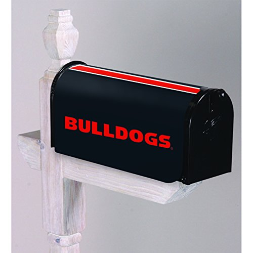 - Evergreen NCAA Georgia Bulldogs Mailbox Cover, Team Colors, One Size